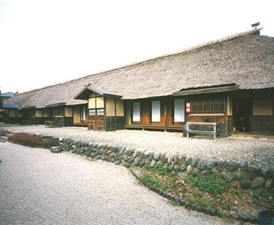 旧安中藩武家長屋